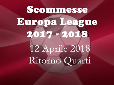 Consigli per le scommesse della Europa LEague di giovedì 12 Aprile 2018