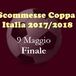 scommesse Finale di Coppa Italia 2018
