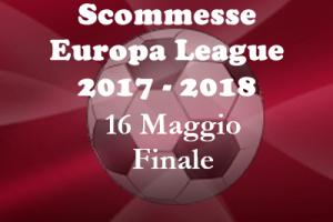 Scommesse della Finale di Europa League 2018 di mercoledì 16 Maggio