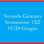 LE scommesse 1X2 per la seconda giornata della Fase a Giorni dei MOndiali 2018 in programma dal 19 al 24 giugno