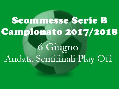Le quote per le scommesse delle semifinali di andata play off Serie B 2017-18