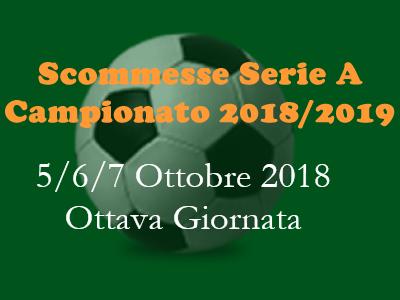Scommesse Serie A 5, 6, 7 ottobre 2018